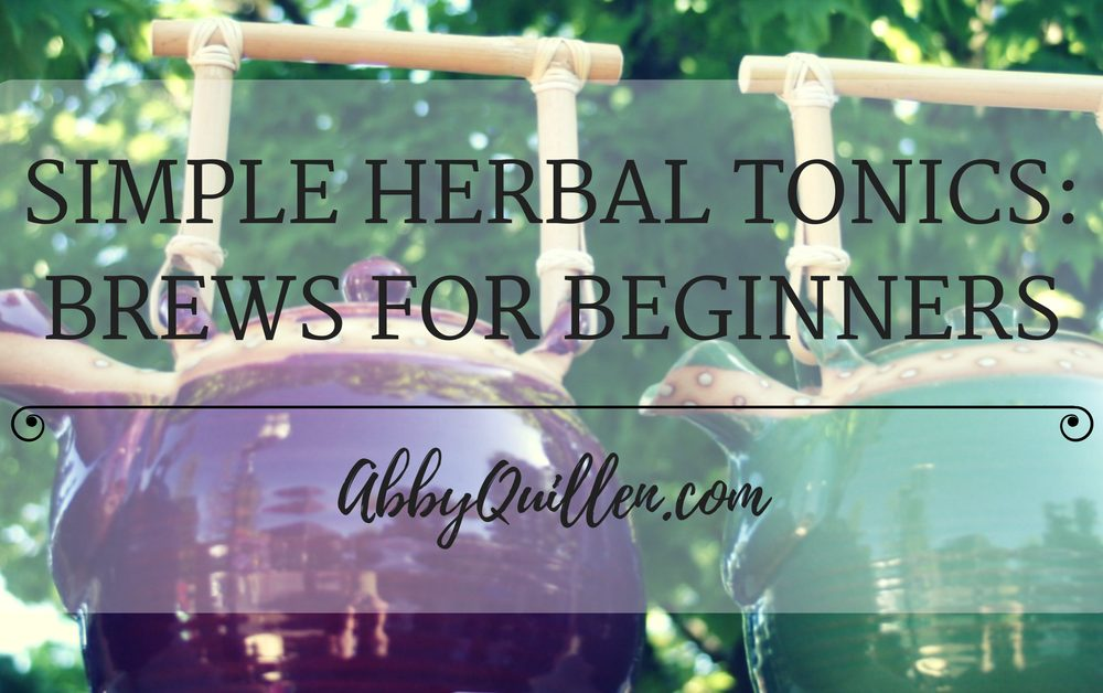 Simple Herbal Tonics: Brews for Beginners