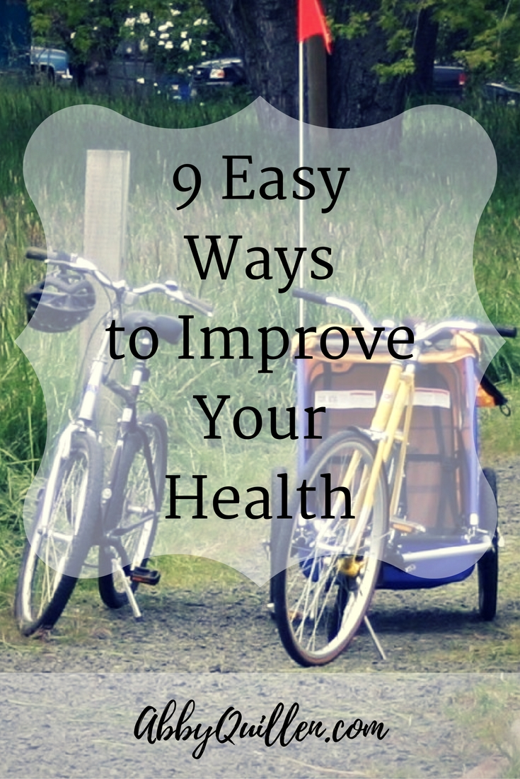 9 Easy Ways to Improve Your Health #wellness