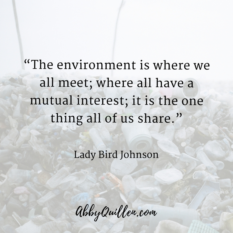 """The environment is where we all meet, where all have mutual interest; it is the one thing all of us share."" #quote"