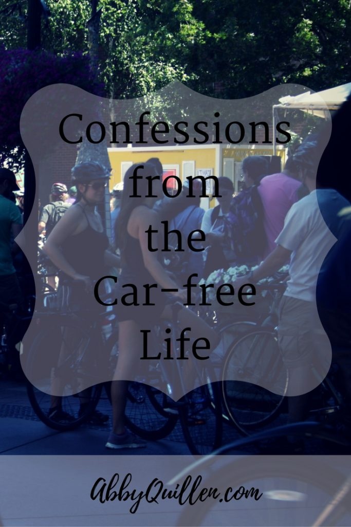 Confessions from the Car-Free Life #carfree #biking