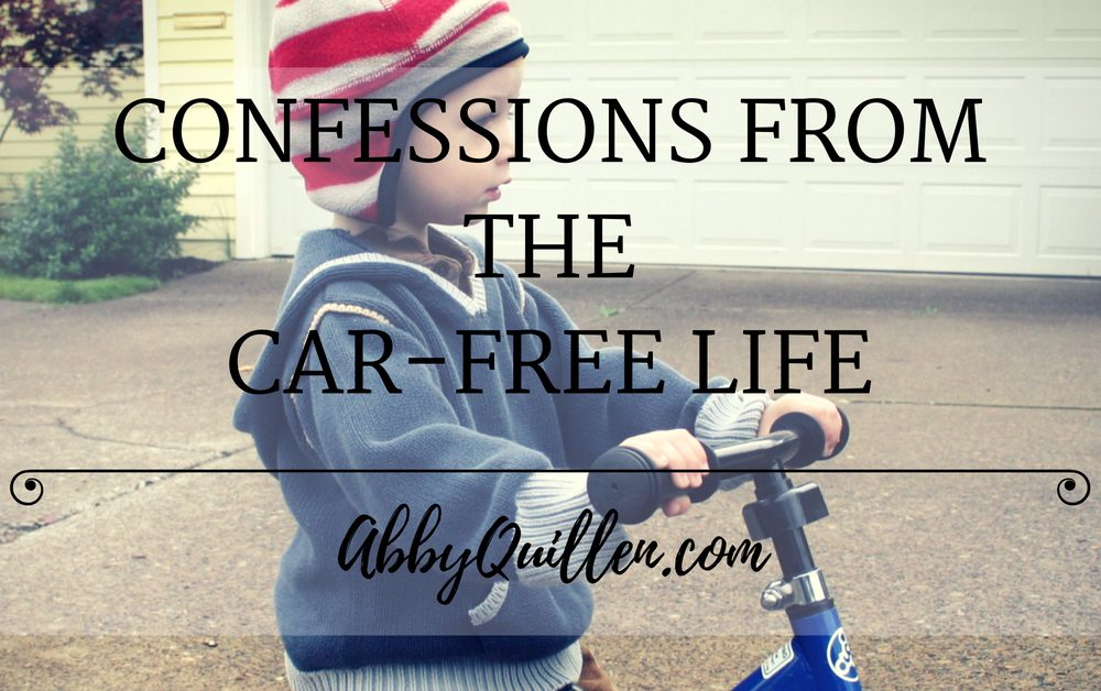 Confessions From the Car-Free Life