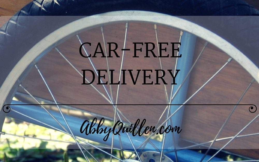Car-Free Delivery