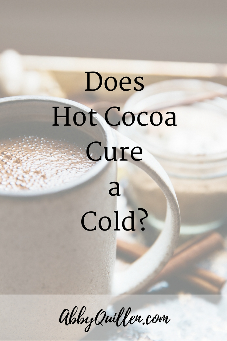 Does hot cocoa cure a cold? #health