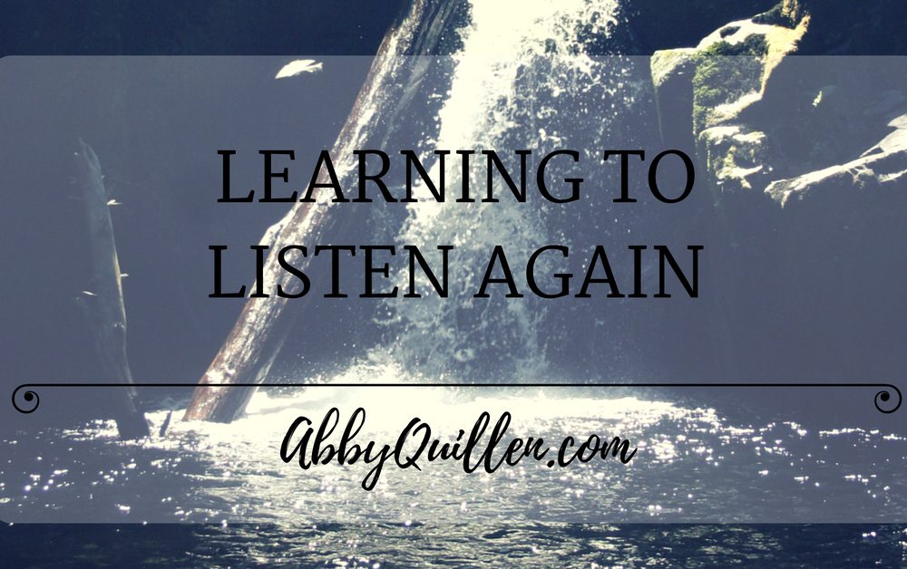 Learning to Listen Again