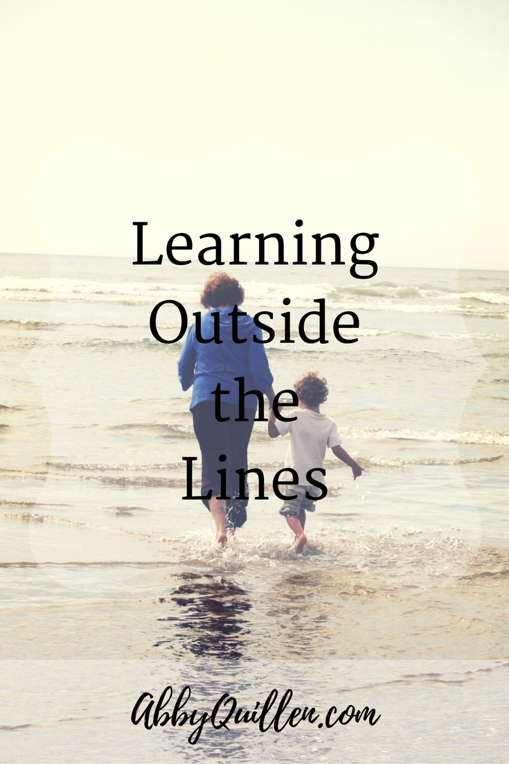 Learning Outside the Lines #parenting #family #learning