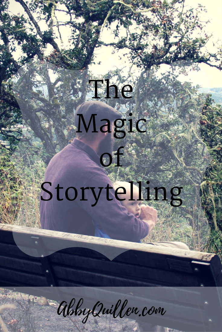 The Magic of Storytelling #narrative #parenting