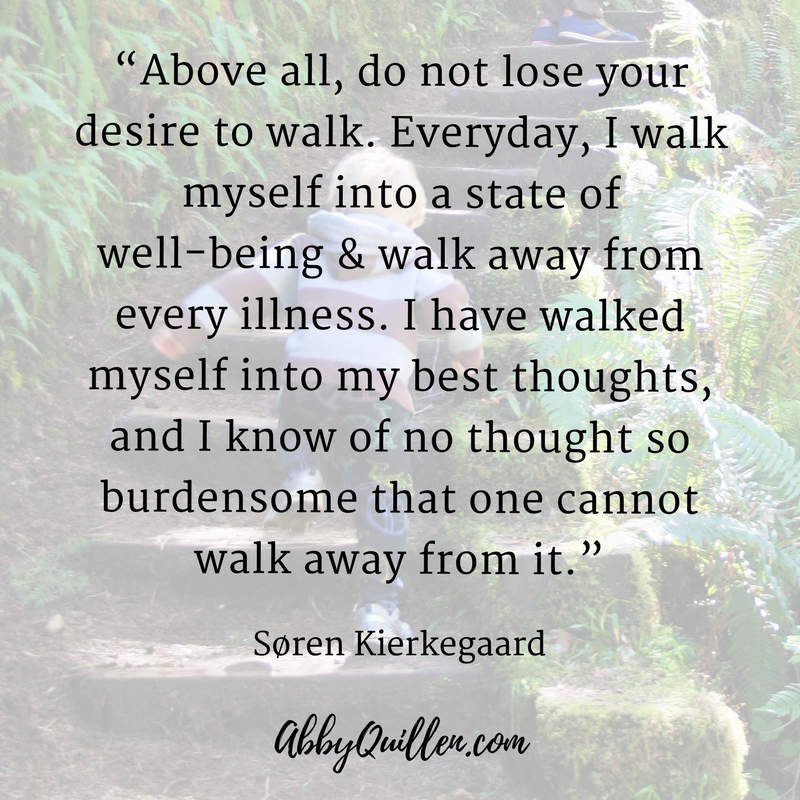 Above all, do not lose your desire to walk. #quote