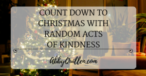 Random Acts of Holiday Kindness