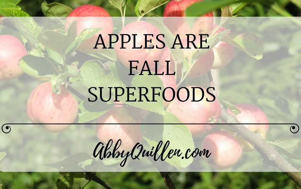 Apples are Fall Superfoods